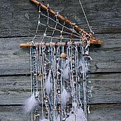 """Фен-шуй и эзотерика ручной работы. Ярмарка Мастеров - ручная работа Ловец снов """"На волнах"""" с натуральными камнями. Handmade."""