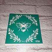 Материалы для творчества handmade. Livemaster - original item 6796 adhesive-based Stencil reusable. Handmade.