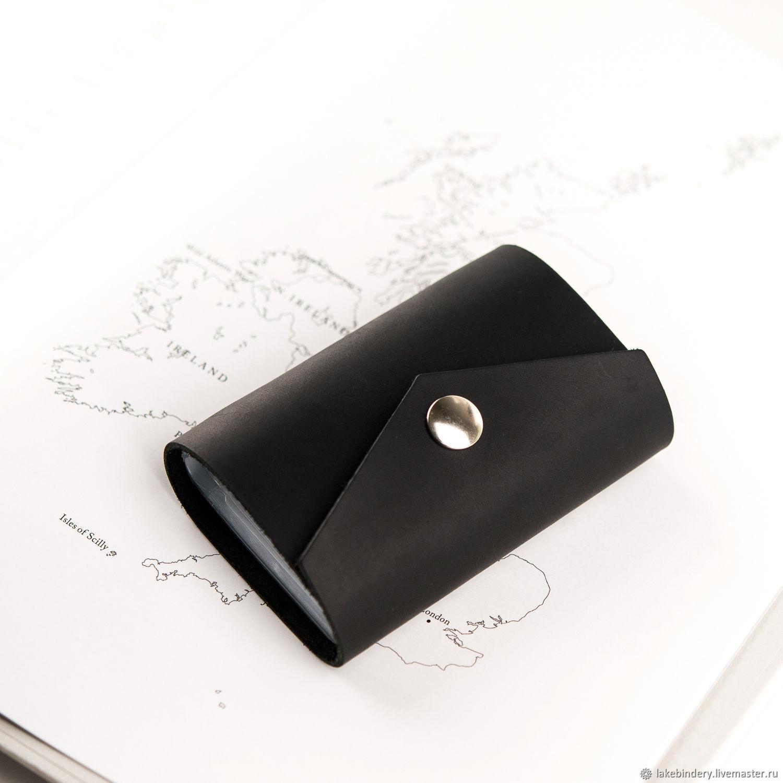 738c188c596 Wallets & Business Card Holders handmade. Livemaster - handmade. Buy Leather  business card holder ...