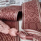 Русский стиль handmade. Livemaster - original item sash ginger. Handmade.