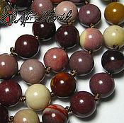 Материалы для творчества handmade. Livemaster - original item Jasper, Mukai, smooth bead, 8 mm (natural stone). Handmade.
