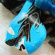 Посуда ручной работы. Ярмарка Мастеров - ручная работа ТАЙФУН  двойная бутылка (пустая). Handmade.