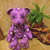 Куклы и игрушки ручной работы. Ярмарка Мастеров - ручная работа Мишка Розовая щёчка. Handmade.