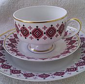 Винтаж handmade. Livemaster - original item Tea three. Wallendorf. Germany.. Handmade.