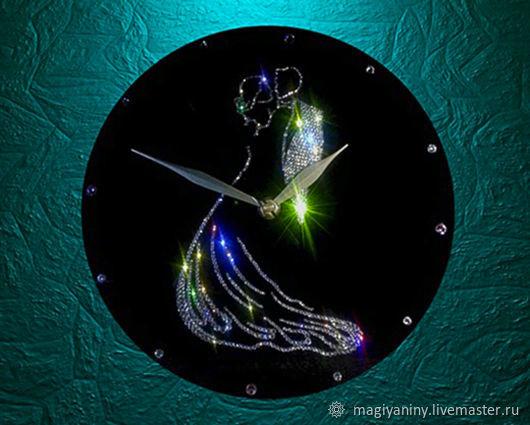 """Настенные часы со стразами """"Танго"""", Подарки, Петергоф,  Фото №1"""