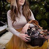 Сумки и аксессуары ручной работы. Ярмарка Мастеров - ручная работа Чайная роза. Handmade.