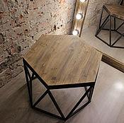 Столы ручной работы. Ярмарка Мастеров - ручная работа Журнальный/кофейный столик LOFT. Handmade.