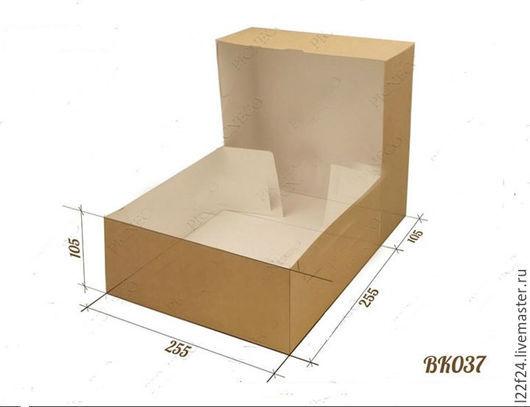 Упаковка ручной работы. Ярмарка Мастеров - ручная работа. Купить Коробка  (ВК037) БОЛЬШАЯ. Handmade. Коричневый, упаковка, упаковка для подарка