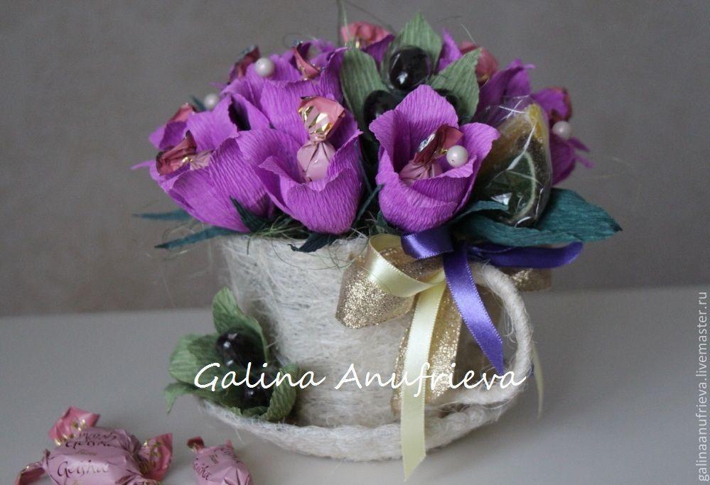 Красивый букет колокольчики заказать пенза, доставка цветов