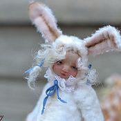 Куклы и игрушки ручной работы. Ярмарка Мастеров - ручная работа Мой милый Зайчик. Handmade.