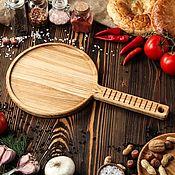 """Доски ручной работы. Ярмарка Мастеров - ручная работа """"для Блинов"""" большая доска-блюдо из массива ясеня.. Handmade."""