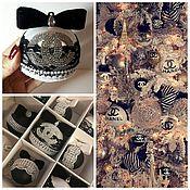 Подарки к праздникам ручной работы. Ярмарка Мастеров - ручная работа Елочные шары. Handmade.