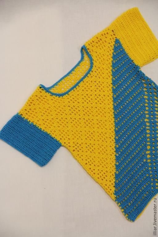 Одежда для мальчиков, ручной работы. Ярмарка Мастеров - ручная работа. Купить Футболка для мальчика. Handmade. Разноцветный, 100% хлопок