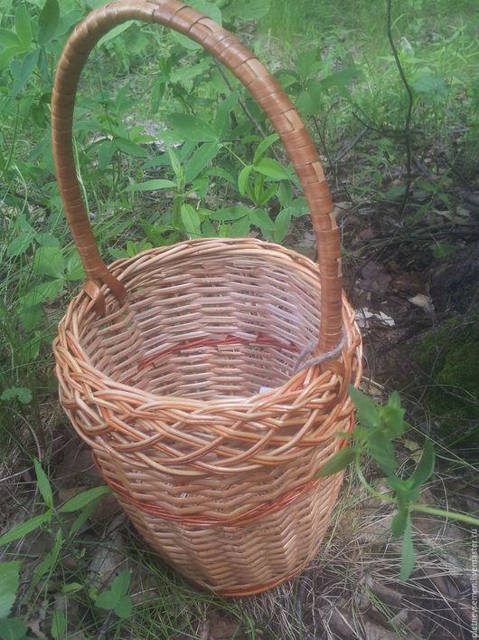 Корзины, коробы ручной работы. Ярмарка Мастеров - ручная работа. Купить Корзина плетеная для ягод. Handmade. Плетеные изделия