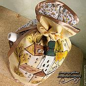 """Для дома и интерьера ручной работы. Ярмарка Мастеров - ручная работа """"Старый город"""" ХранительницаЧайногоТепла. Handmade."""