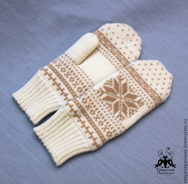 DIY Style: Knitted Mittens