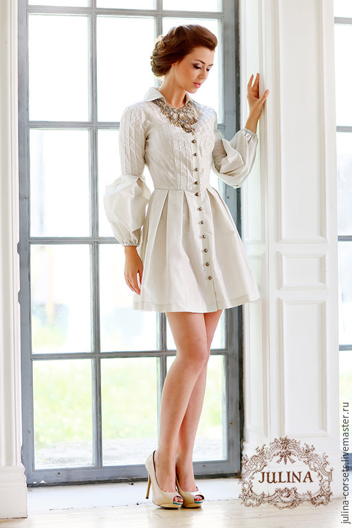 Шелковое платье купить в москве