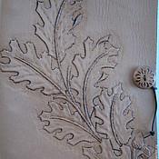 "Канцелярские товары ручной работы. Ярмарка Мастеров - ручная работа Тетрадь на кольцах ""Дубок"". Handmade."