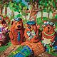 Кукольный театр ручной работы. сказка Три медведя. Анастасия Алферова Сreme brulee. Интернет-магазин Ярмарка Мастеров. Сказка