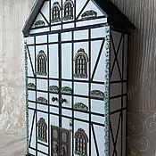 Для дома и интерьера handmade. Livemaster - original item The housekeeper wall: Alpine house-large locker.. Handmade.