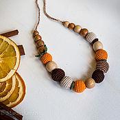 """Одежда ручной работы. Ярмарка Мастеров - ручная работа Слингобусы """"Апельсин с корицей"""". Handmade."""