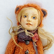 Куклы и игрушки ручной работы. Ярмарка Мастеров - ручная работа Настенька - лисичка. Handmade.
