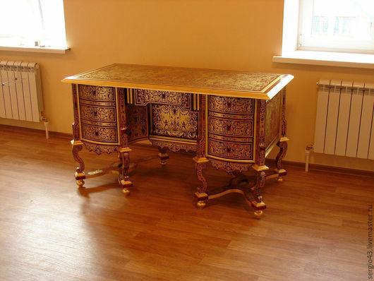 Мебель ручной работы. Ярмарка Мастеров - ручная работа. Купить Письменный стол в стиле Мазарини (бюро Мазарини).. Handmade.