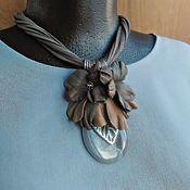 Украшения handmade. Livemaster - original item Necklace First frost. Handmade.