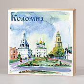 Сувениры и подарки handmade. Livemaster - original item Souvenir magnets Kolomna. Handmade.