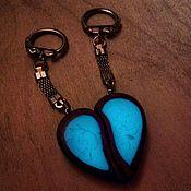 Подарки к праздникам handmade. Livemaster - original item Luminous keychains