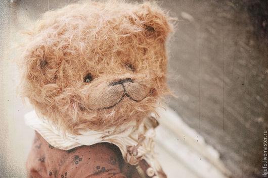 Мишки Тедди ручной работы. Ярмарка Мастеров - ручная работа. Купить Пьер. авторский мишка тедди ручной работы. Handmade.