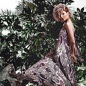 Одежда handmade. Livemaster - original item Tropical dress. Handmade.