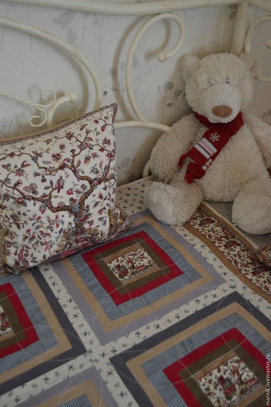 Текстиль, ковры ручной работы. Ярмарка Мастеров - ручная работа. Купить Лоскутное покрывало с восточным колоритом. Handmade. Разноцветный