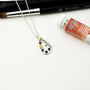 Украшения handmade. Livemaster - original item PENDANTS: Palette with tube. Handmade.