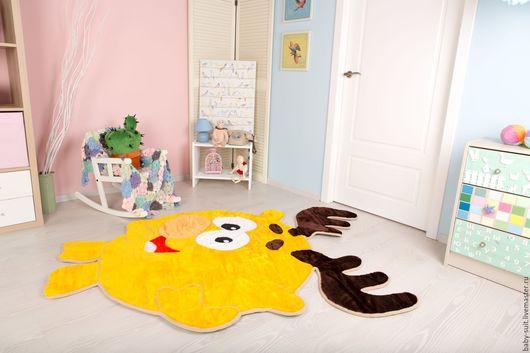 Детский коврик Лосенок (смешарик Лосяш) для малышей и детей
