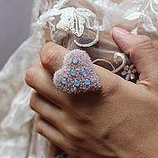 """Украшения ручной работы. Ярмарка Мастеров - ручная работа Нежное и романтичное кольцо """"Juliet`s heart"""". Handmade."""