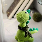 Куклы и игрушки handmade. Livemaster - original item Toy Dinosaur. Handmade.