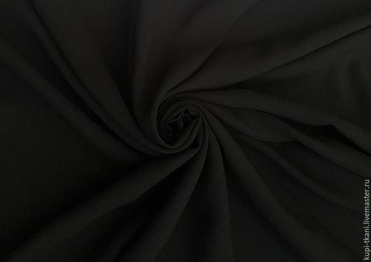 Шитье ручной работы. Ярмарка Мастеров - ручная работа. Купить Штапель черный. Handmade. Черный, штапель, штапель вискозный