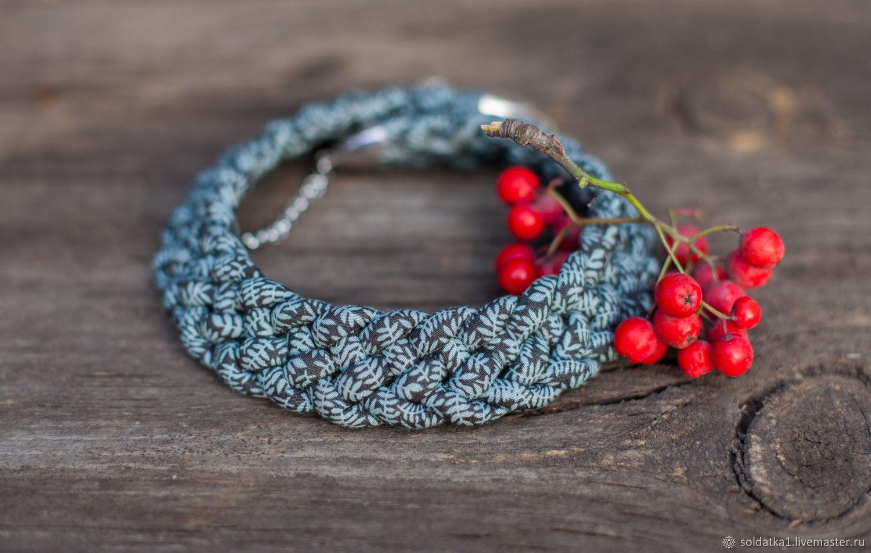 necklace ' Autumn evening', Necklace, Serpukhov,  Фото №1