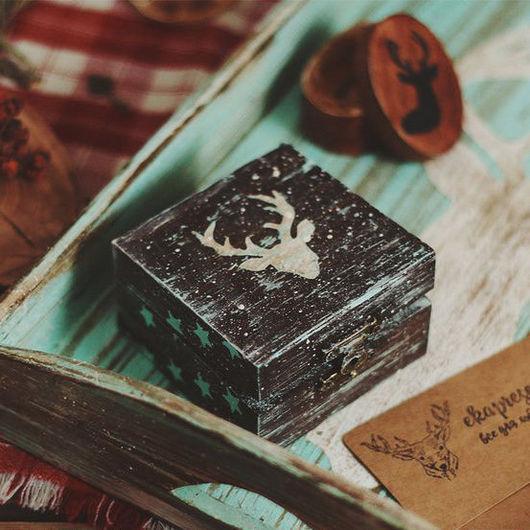 Шкатулки ручной работы. Ярмарка Мастеров - ручная работа. Купить Деревянная шкатулка в скандинавском стиле. Handmade. Шкатулка, шкатулка из дерева