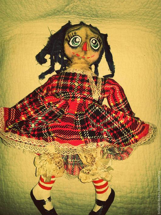 Ароматизированные куклы ручной работы. Ярмарка Мастеров - ручная работа. Купить Чердачная кукла Берта. Handmade. Коричневый, оберег для дома