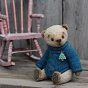Куклы и игрушки ручной работы. Ярмарка Мастеров - ручная работа Тедди мишка Серафим. Handmade.