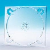 Материалы для творчества ручной работы. Ярмарка Мастеров - ручная работа СD трей ,крепление для диска, прозрачный,белый. Handmade.