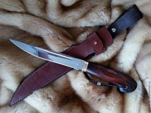 """Подарки для мужчин, ручной работы. Ярмарка Мастеров - ручная работа. Купить Нож """"ФИЛин"""". Handmade. Стальной, бронза, оригинальные подарки"""