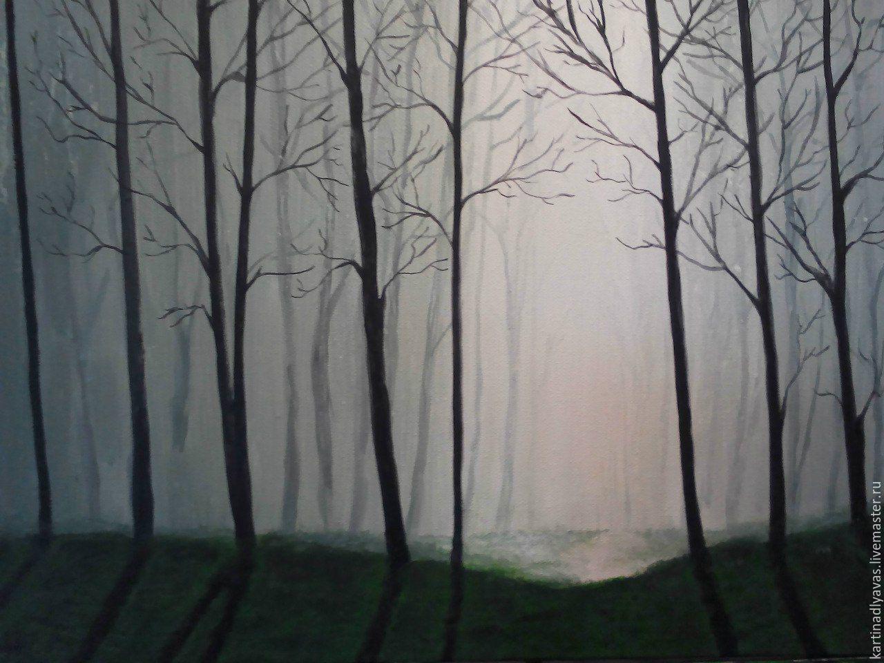 Зачарованный лес, Картины, Москва,  Фото №1