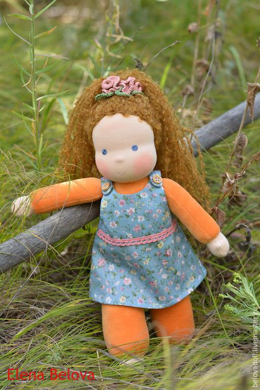 Вальдорфская игрушка ручной работы. Ярмарка Мастеров - ручная работа. Купить Вальдорфская кукла Милашка, 33 см. Handmade.
