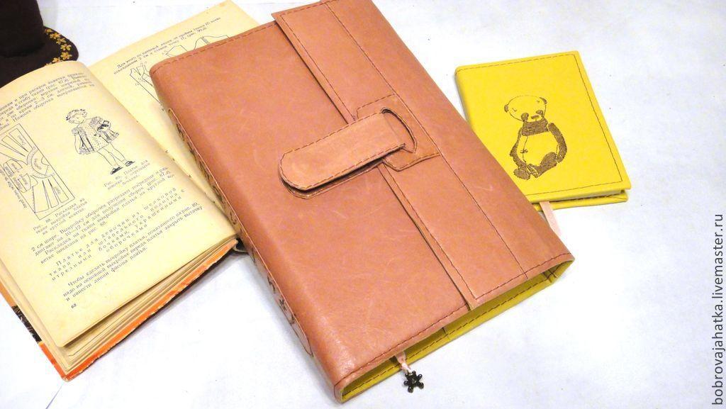 Ежедневники ручной работы. Ярмарка Мастеров - ручная работа. Купить Кожаный ежедневник а5 с логотипом Съемный блок и блокнот для эскизов. Handmade.