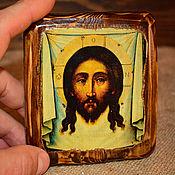 Картины и панно handmade. Livemaster - original item The Icon Of The Vernicle. XVII in. Handmade.