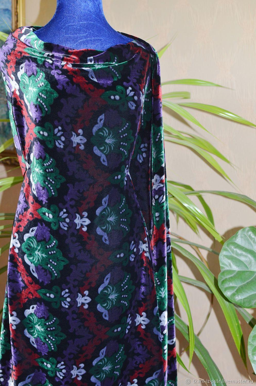Бархат натуральный шелк купить ткани брендовые в москве