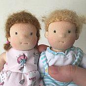 Вальдорфские куклы и звери ручной работы. Ярмарка Мастеров - ручная работа Вальдорфская кукла 16см. Handmade.